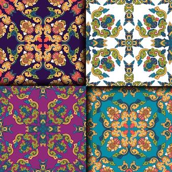 Geometrische patronen collectie