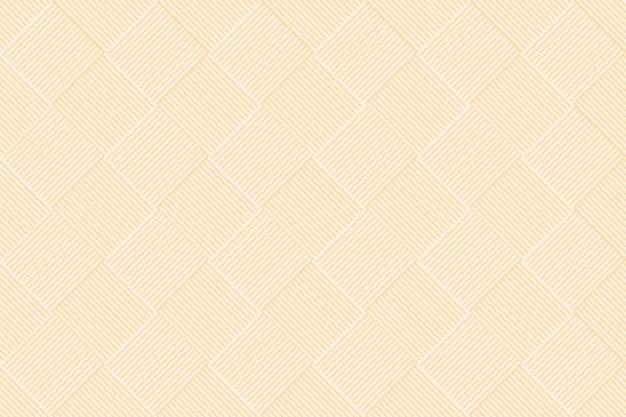 Geometrische patroon achtergrond vector in gele kleur