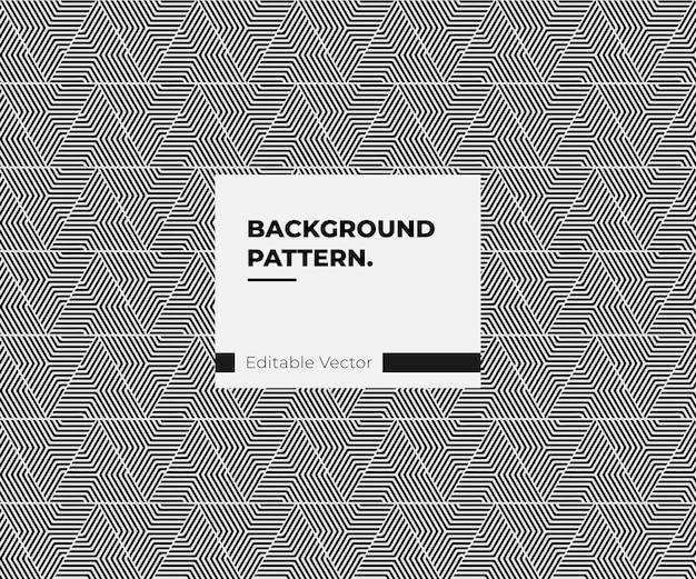 Geometrische patroon driehoek modern