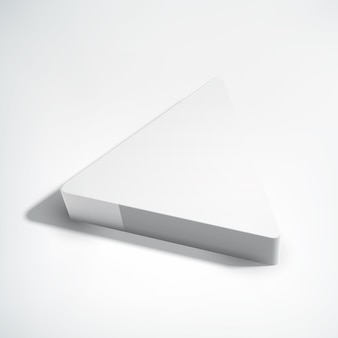 Geometrische rechthoek 3d