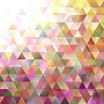 Geometrische retro driehoekige achtergrond