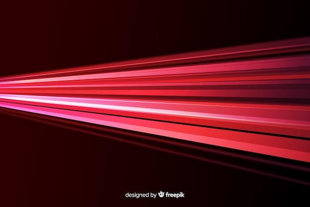 Geometrische rode lichtenachtergrond