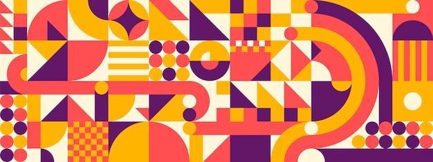 Geometrische stijl abstracte achtergrond.