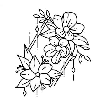 Geometrische tattoo