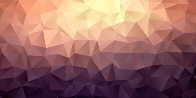 Geometrische veelhoek abstract behang als achtergrond Premium Vector