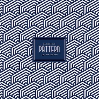 Geometrische vette lijnen patroon achtergrond