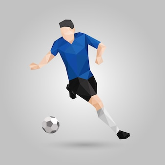 Geometrische voetballer