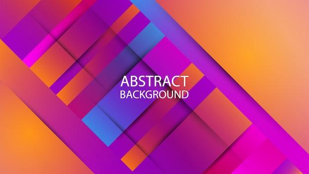 Geometrische vorm abstracte kleurrijke gradiënt als achtergrond