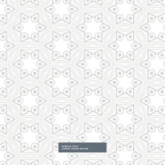Geometrische vorm grijs patroon op een witte achtergrond