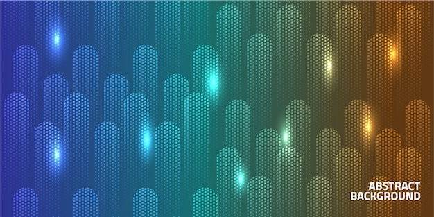 Geometrische vorm lichte achtergrond