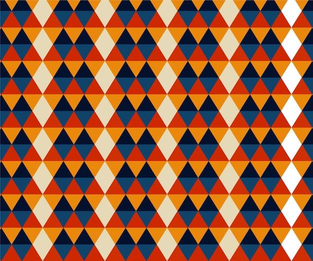 Geometrische vormen groovy patroon