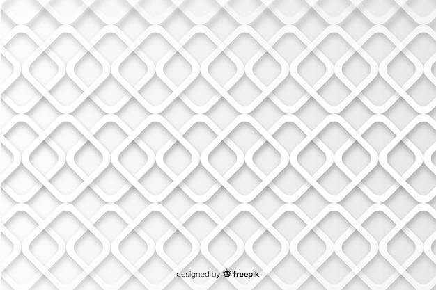 Geometrische vormen op papierstijlachtergrond