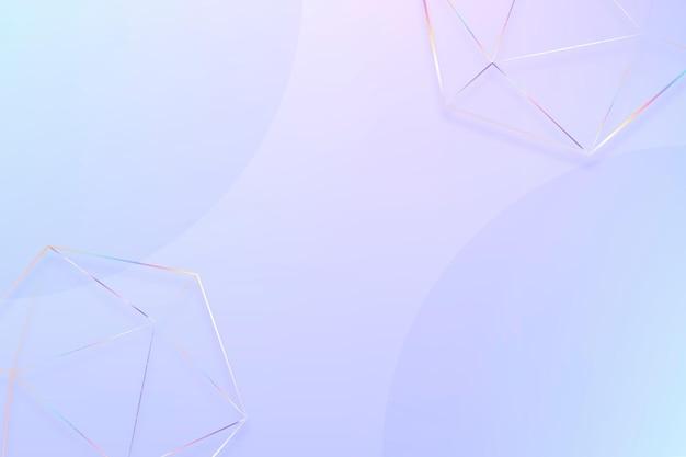 Geometrische vormen pastel achtergrond