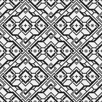 Geometrische vormen patroon achtergrond