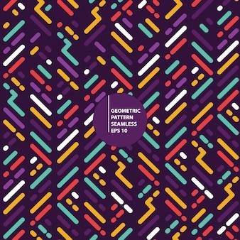 Geometrische vormen patroon naadloze achtergrond