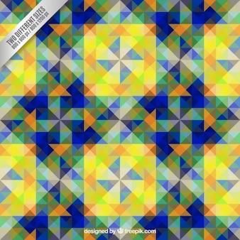 Geometrische vormen patroon
