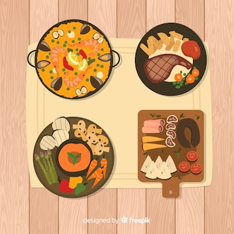 Gerechten gerechten set