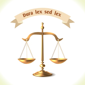 Gerechtshof schaal
