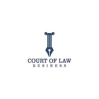 Gerechtslogo voor advocaat