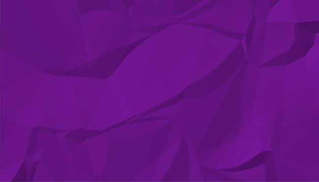 Gerimpeld verfrommeld papier in een paarse kleurtint