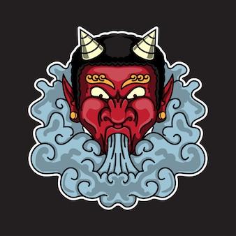 Gerookte demon