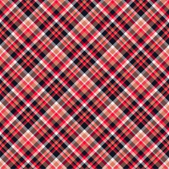 Geruit geruite naadloze patroon. vector achtergrond van textiel ornament. ontwerp met platte stof. schotse ruit.
