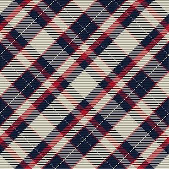 Geruit patroon naadloos. controleer de structuur van de stof. streep vierkante achtergrond. vector textielontwerp tartan