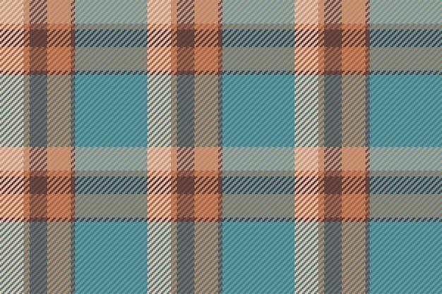 Geruit tartan naadloos patroon in vector voor het bedrukken van overhemden, jacquardpatronen, textielafbeeldingen