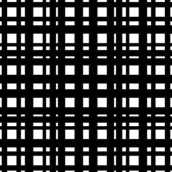 Geruit tartanpatroon met zwarte lijnen