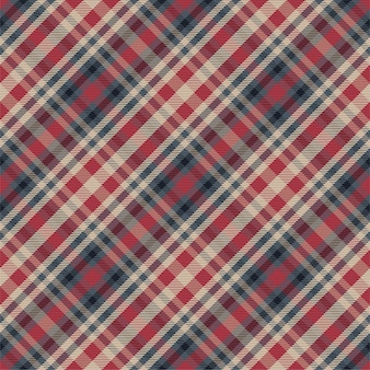 Geruite patroon naadloos. controleer de structuur van de stof. streep vierkante achtergrond. textielontwerp tartan.