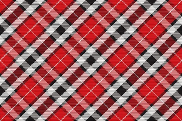 Geruite patroon naadloos. controleer de structuur van de stof. streep vierkante achtergrond. vector textielontwerp tartan