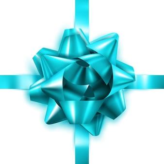 Geschenk boog versier doos kerstcadeau