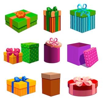 Geschenkdozen set