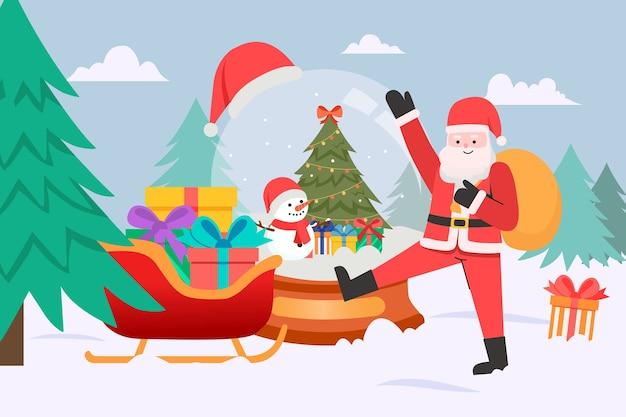 Geschenken van de kerstman