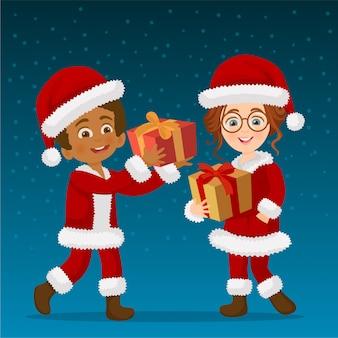 Geschenkuitwisseling