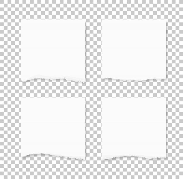Gescheurd papier textuur