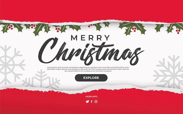 Gescheurde kerstmis