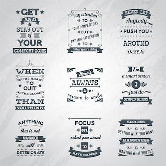 Geslaagde citaten instellen