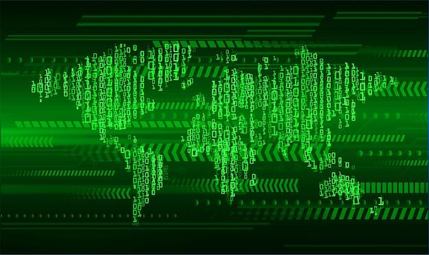 Gesloten hangslot op digitale achtergrond