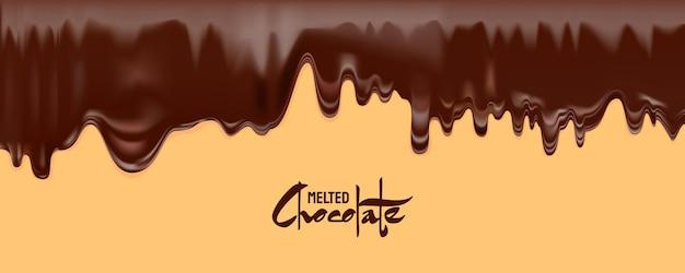Gesmolten chocolade