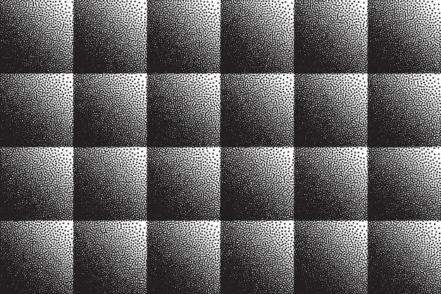 Gestippelde 3d-abstracte achtergrond retro dotwork textuur