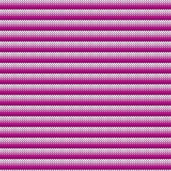 Gestreept abstract gebreid patroon. naadloze breiwol textuur
