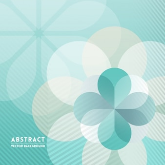 Gestreepte achtergrond met geometrische vormen in groene tinten