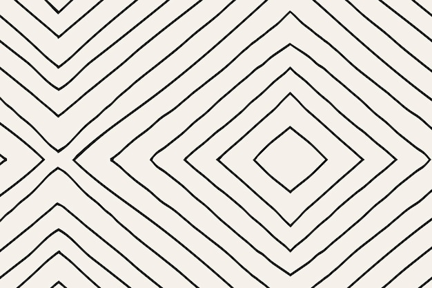 Gestreepte patroonachtergrond, krabbelvector, eenvoudig ontwerp