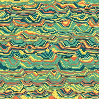 Gestreepte vintage abstracte achtergrond