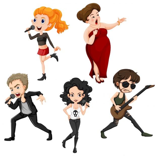 Getalenteerde zangers