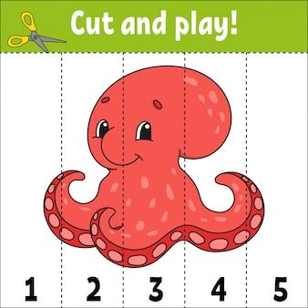 Getallen leren. werkblad voor het ontwikkelen van onderwijs. spel voor kinderen.
