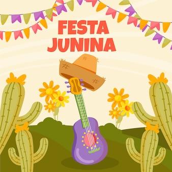Getekende festa junina