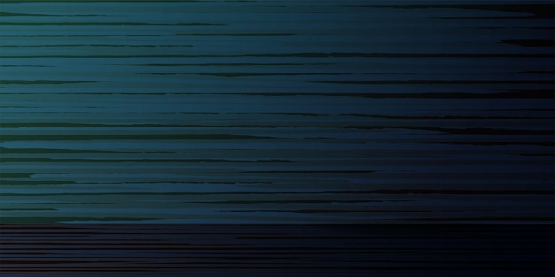 Getextureerde houten donkere leeg bord abstracte horizontale blauwe achtergrond vectorillustratie