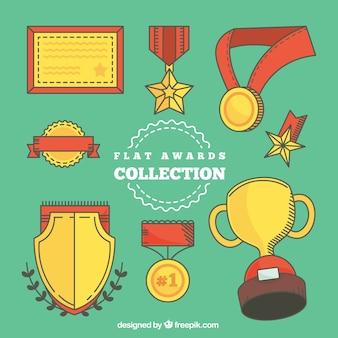 Getrokken collectie award